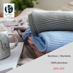 Bamboo Blanket (20% off)