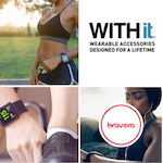 'WITHit' Smartwatch Accessories (up to 23% off)